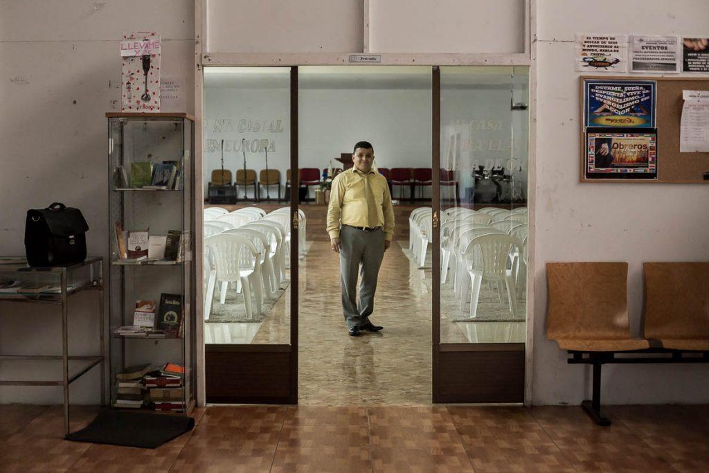 Obed Hernandez, ministro de culto de la Iglesia Pentecostal Unida en Europa | José Miguel Marco
