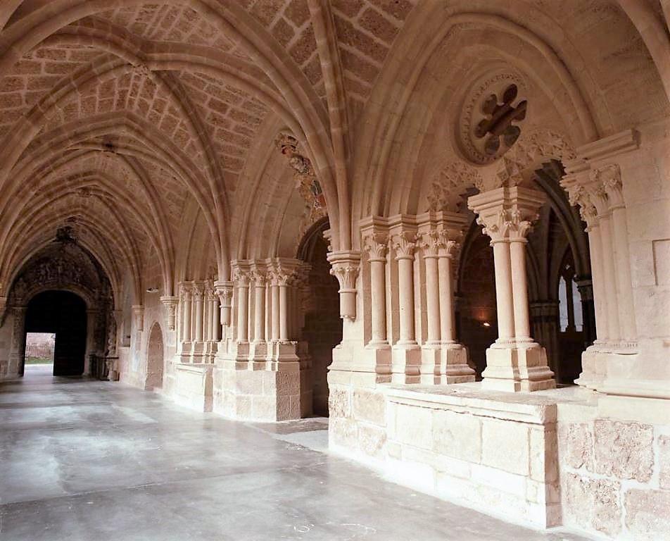 Claustro del Monasterio de Piedra restaurado