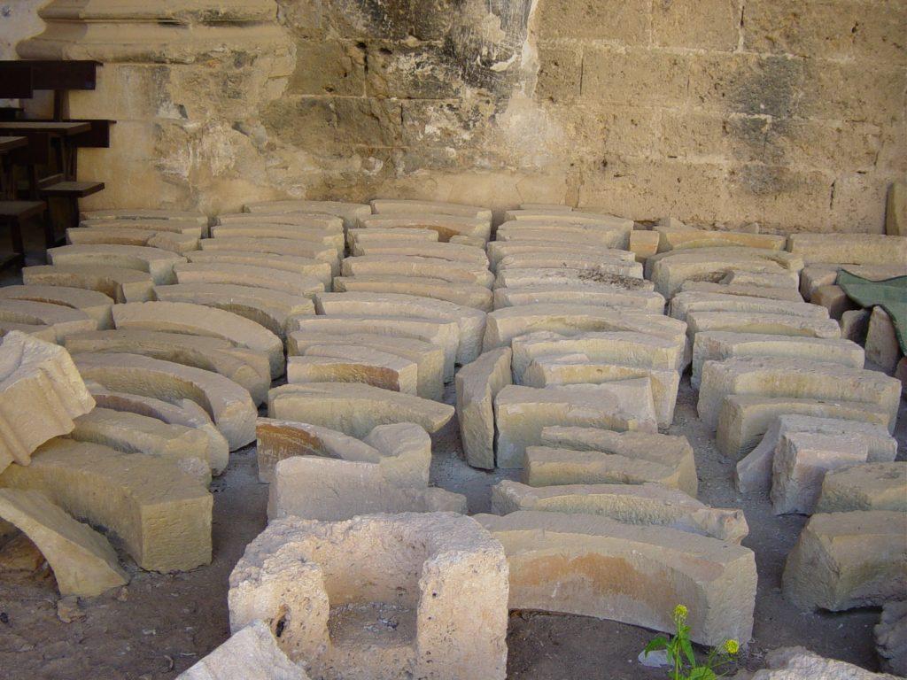 Iglesia del Monasterio de Piedra, reconstrucción del rosetón