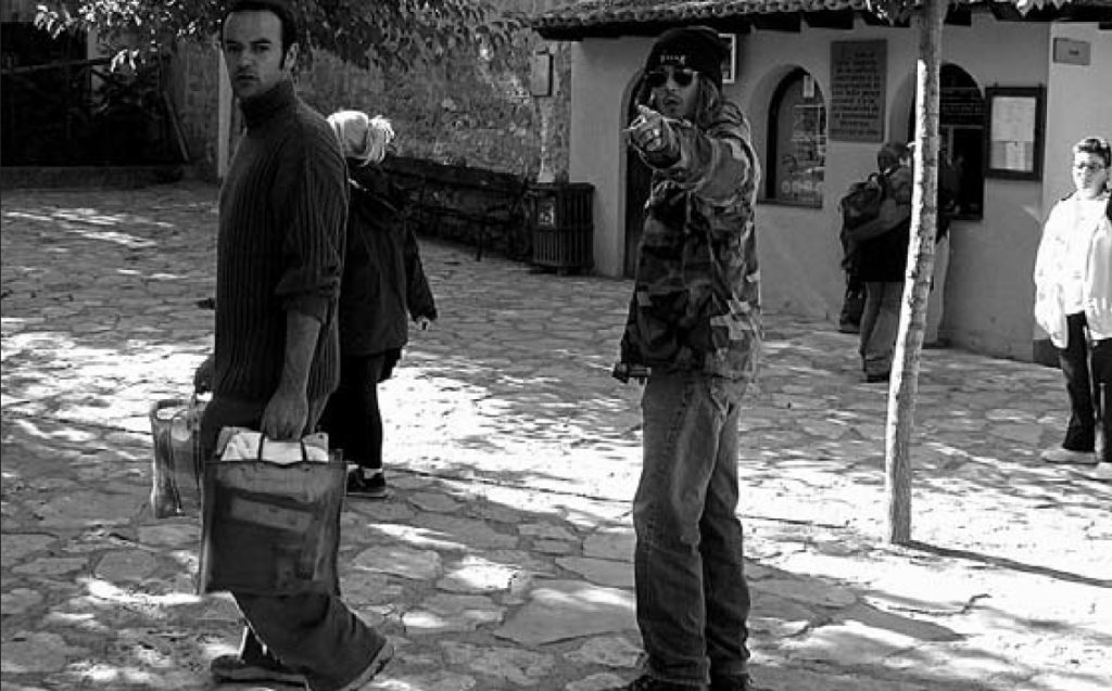 Johnny Depp en el Monasterio de Piedra. Foto de Santiago Cabello